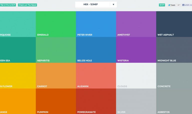 Choosing the colors of a website: Color Psychology in Web Design