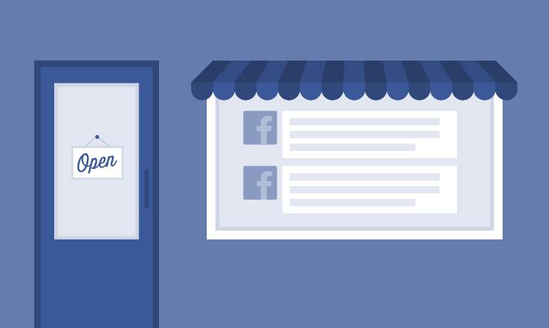 The Facebook business page offers a better UX experience